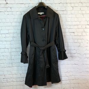 Larry Lavine lined trench coat.  Very soft!